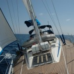 Bow shot RYA Training yacht
