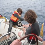 RYA youth sailing Greece