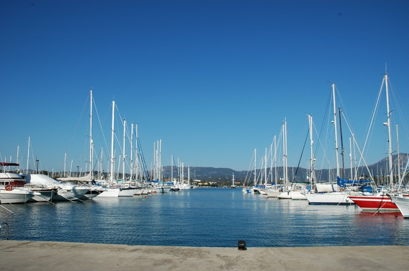 Gouvia Marina RYA course base