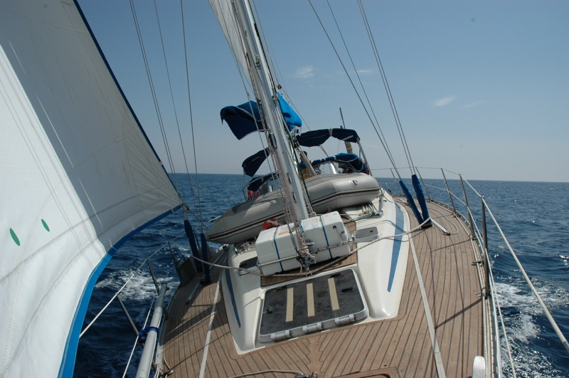 Mafalda II full sail RYA Greece