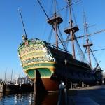 sailing ship Amsterdam