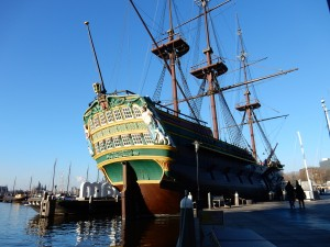 sailing ship Amsterdam