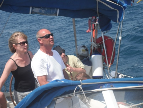 RYA sailing Greece