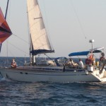 RYA training vessel Greece