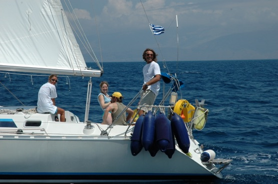 Alonside sailing corfu sea school