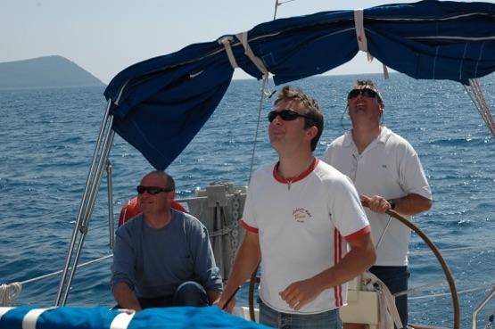 RYA crew training Corfu Sea School