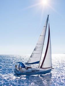RYA sailing Corfu