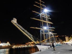 Sail training ship Chopin RYA Mediterranean